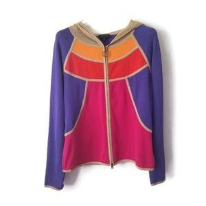ESCADA Sport hoodie jacket sz Medium